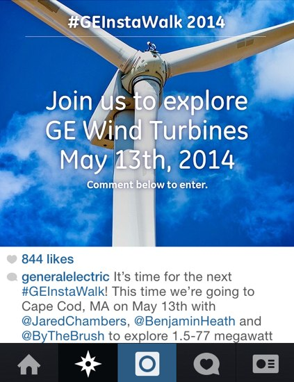 general electric instagram contest
