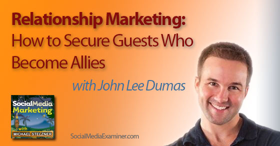 john lee dumas image for podcast