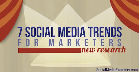 social media trends for marketers