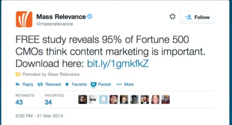 massrelevance promoted tweet