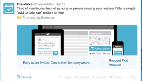 eventable promoted tweet