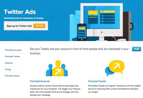 twitter ad options