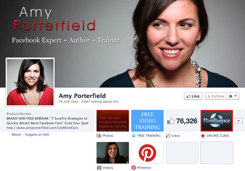 amy porterfield facebook page