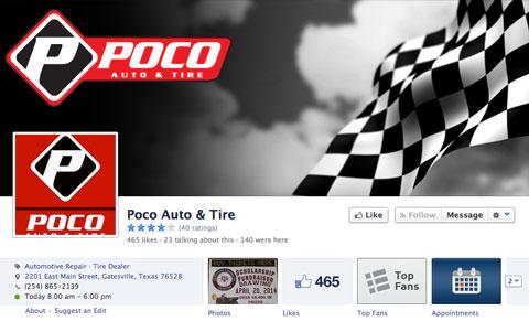 poco auto and tire facebook page
