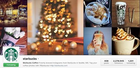 starbucks instagram header