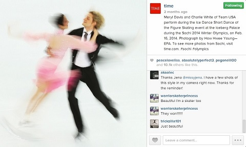 time instagram