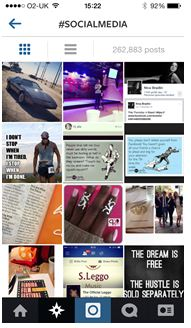 #socialmedia hashtag feed on instagram