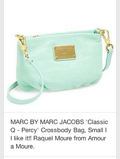 regular pin of mark jacobs purse