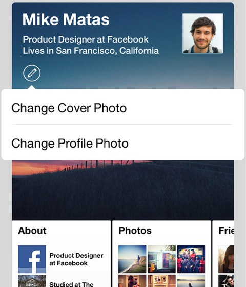 facebook paper cover photo