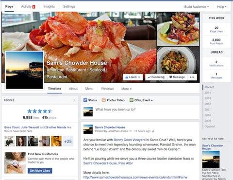 facebook update design worldwide