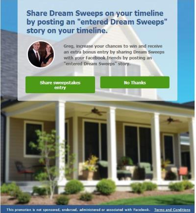 mauz dare group sweepstakes entry confirmation page