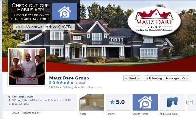 facebook page cover image with call to action placement