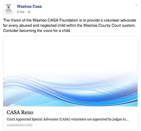 washoe casa facebook post