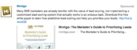 mintigo targeted update