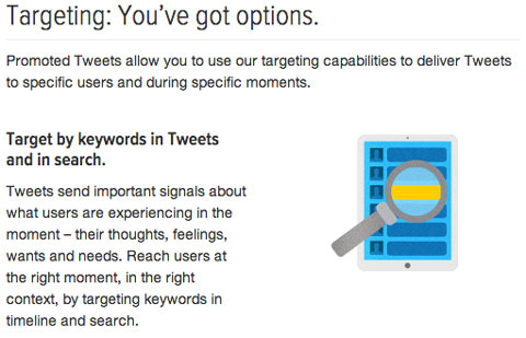 twitter targeting options