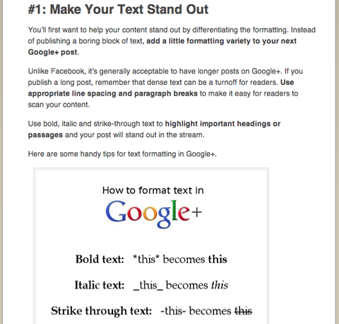 social media examiner megan conley google plus article