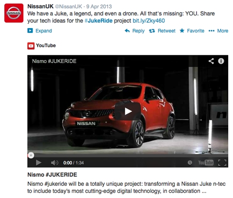 nissanuk #jukeride video post