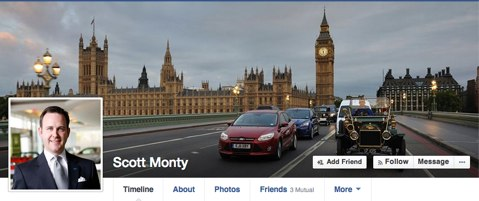 scott monty personal facebook page