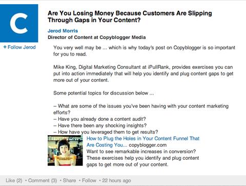 copyblogger conversation update