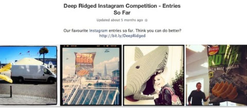 instagram competition example
