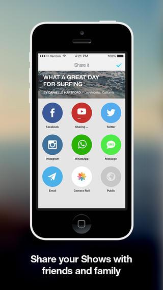 slidely show app