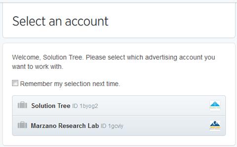 account switching