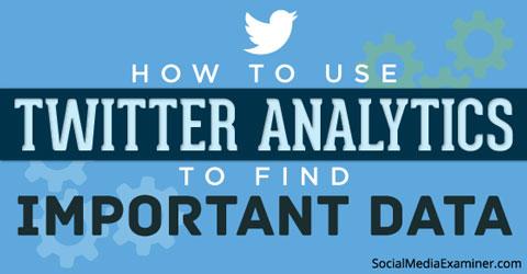 twitter analytics graphic