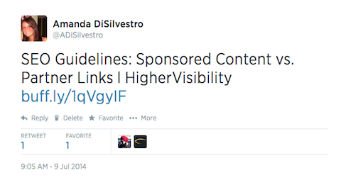 905 headline tweet test
