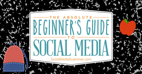 getting started with social media graphic