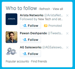 who to follow suggestions on twitter