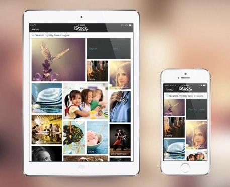 getty images ios app