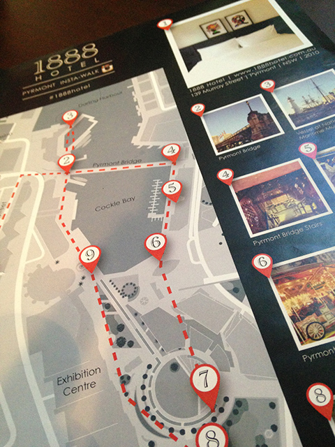 1888 hotel instagram walk map