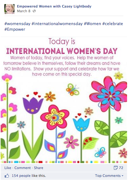 womens day graphic