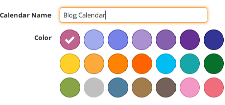 color options for calendars in divvyhq