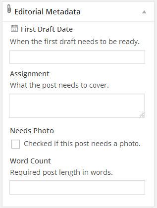 edit flow metadata widget