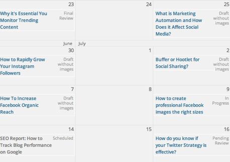 edit flow calendar option
