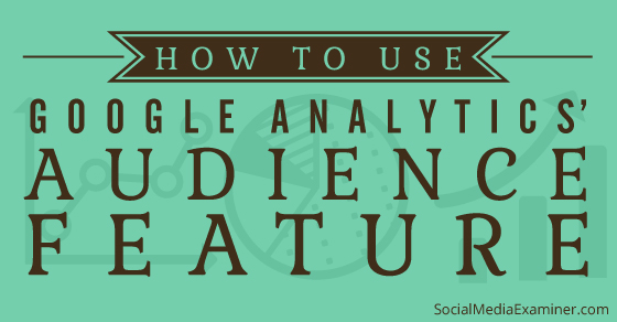 How to Use Google Analytics Audience Data to Improve Your Marketing |