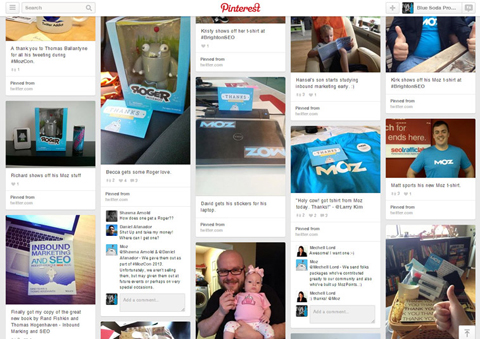 moz random acts of kindess board