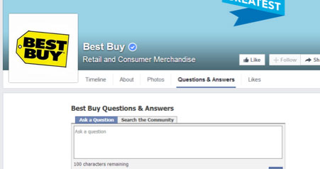 best buy on facebook