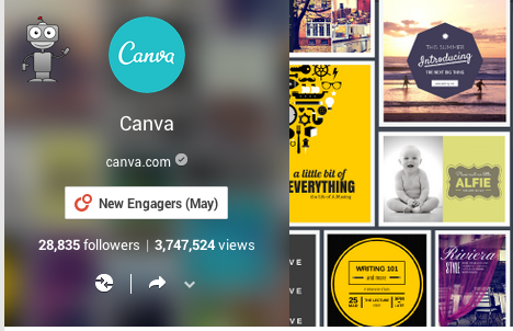 canva header on google+