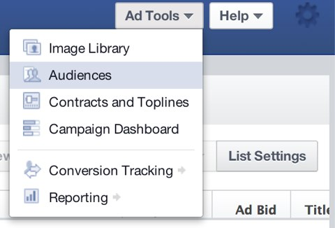 facebook lookalike audiences ad tools
