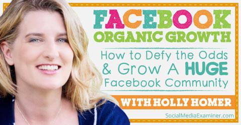 facbook organic growth podcast image
