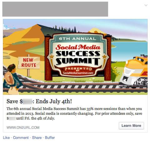 smss14 facebook ad
