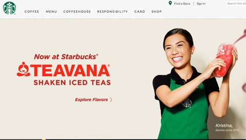 starbucks home page
