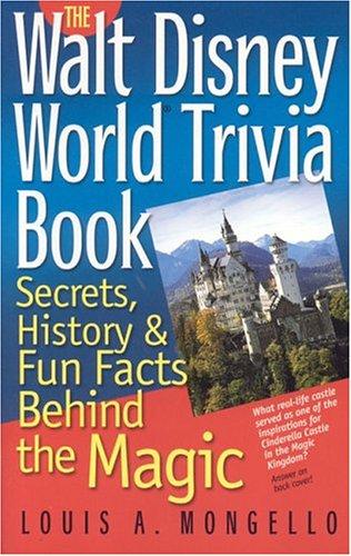 walt disney trivia book by lou mongello