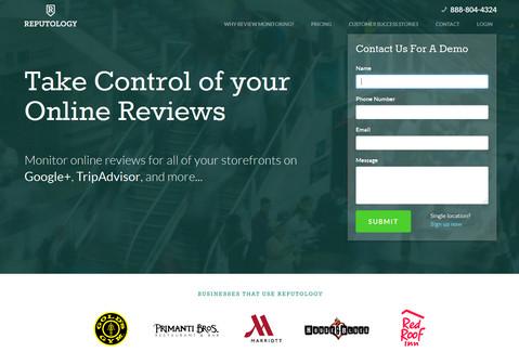 reputology website capture