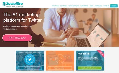 socialbro website capture