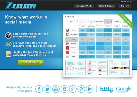 zuum website capture