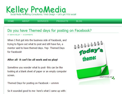 kelly promedia theme post