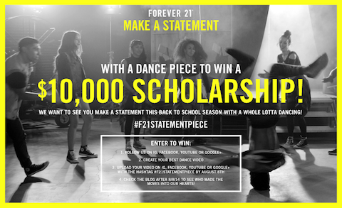 forever21 contest image
